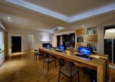 现代型简约办公室装修