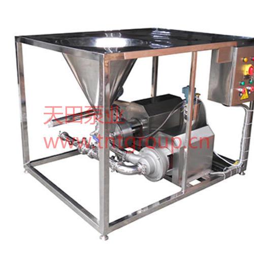 TRL-B型高效乳化均質配料機