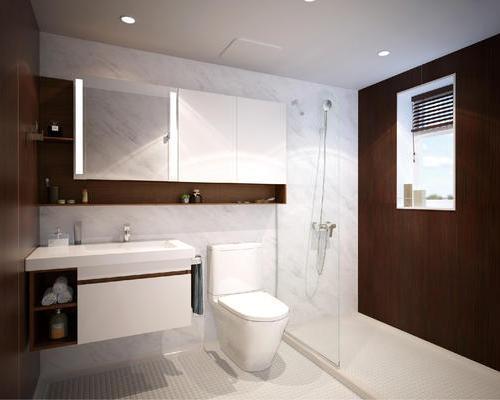 """""""Jade exquisite"""" series system bathroom"""