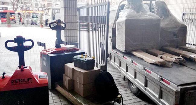 中国人民银行-搬运钞票专用-全电动搬运车