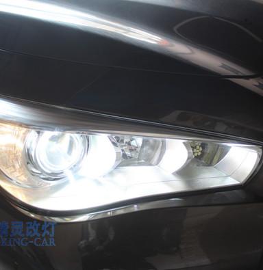 苏州英菲尼迪Q50车灯不亮大灯改装q5双光透镜欧司朗氙气灯泡LED示宽灯