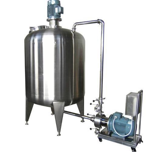 Hmix03系列配备真空配料储罐及真空混料系统