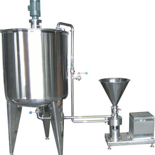 Tmix02型水粉高速分散混合乳化机