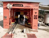 为洁CT-929隧道式镀膜自动毛刷机成功入驻云南大理