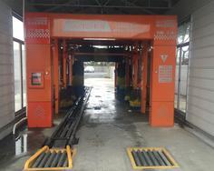 CT-929隧道式毛刷洗车机