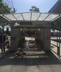 上海为洁洗车机入驻河南舞钢市CT-929-9