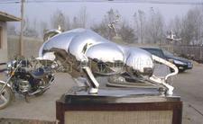 不锈钢雕塑——牛