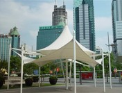 鋼結構雨棚3