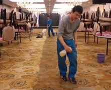 上海专业酒店地毯清洗公司,地毯清洗效果图