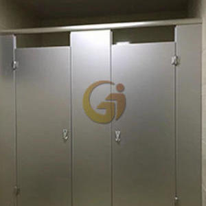 鋁蜂窩板洗手間隔斷案例