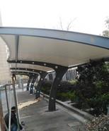 上海市嘉定区澄浏中路小区自行车棚