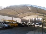 上海市金山区临床实验中心停车棚