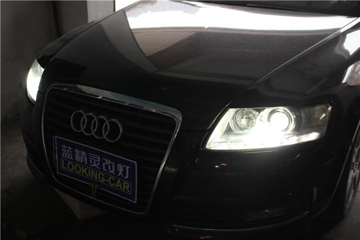 长沙奥迪A6改灯08.jpg