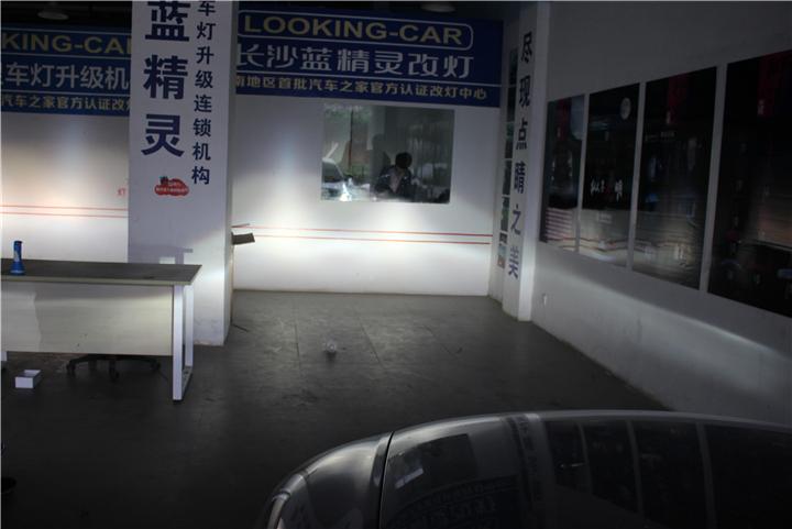 长沙奥迪A6改灯12.jpg