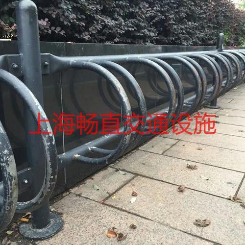 助动车摆放架 上海不锈钢自行车停车架 自行车停车架生产厂家