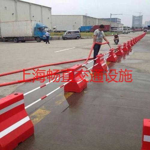 上海隔离墩 水马 塑料防撞墩 防撞桶 隔离墩生产厂家