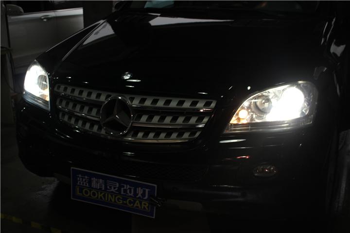 长沙奔驰ML350改灯09.jpg