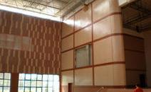 武汉信息工程学院室内体育馆工程案例