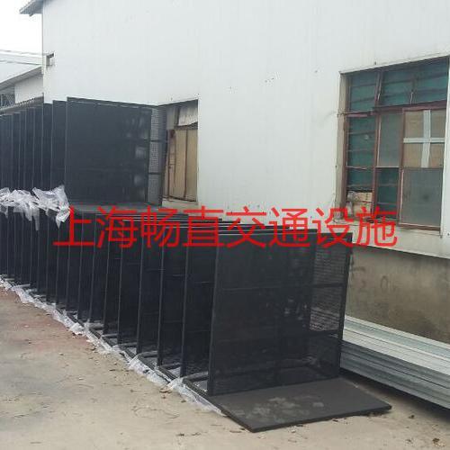 上海设防暴铁马 防爆铁马栅栏杆