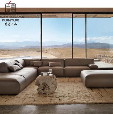 香奢一品高端定制家具新古典转角沙发FLD-062