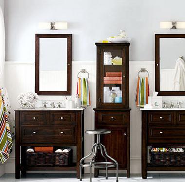 香奢一品定制家具 浴室家具 实木卫生间置物柜 台盆柜 JMH8-050