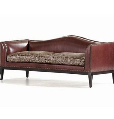 香奢一品定制家具欧式简客厅实木沙发后现代二人沙发BAS2-01-002