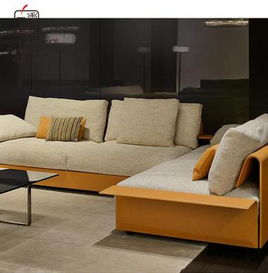 香奢一品高端定制家具新古典转角沙发FLD-056