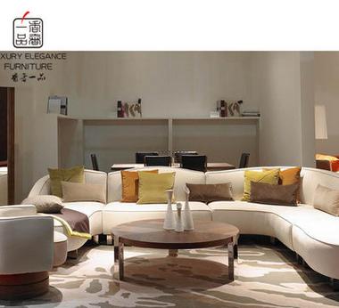 香奢一品高端定制家具新古典转角沙发FLD-210