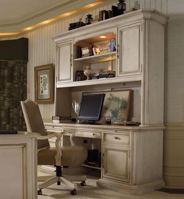 香奢一品家具定做 书房家具 实木书桌 地中海书桌组合DZT7-03-002