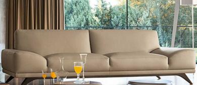 香奢一品高端定制家具美式沙发小户型高档布艺三人位沙发AD-115