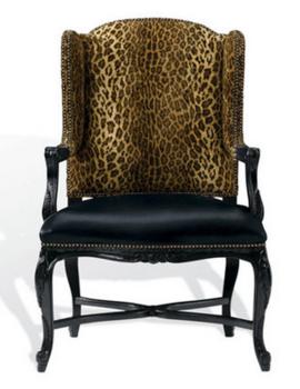 香奢一品定制家具 实木后现代单人布艺沙发餐椅电脑椅LAC1-21-001