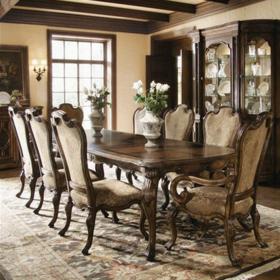 香奢一品家具定制 餐厅家具 实木餐桌 美式餐桌BLT1-01-004