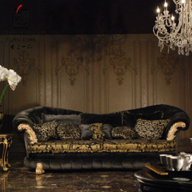 香奢一品高端定制家具欧式沙发客厅高档布艺四人位沙发现货R604