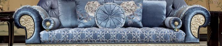 香奢一品高端定制家具新中式沙发别墅客厅实木三人沙发 XZS-123