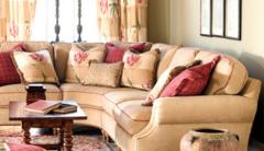 香奢一品定制家具 客厅家具 转角沙发 地中海简约沙发DZS7-01-001