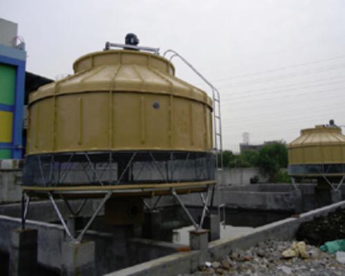 电缆厂ZYST-200圆形冷却塔