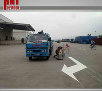 道路划线地下车库车位划线方法有哪几种?武汉热熔划线施工