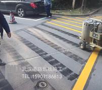 武汉小区道路划线报价 免费提供道路划线方案停车位划线