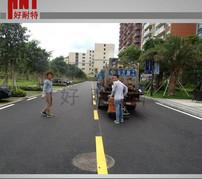 道路划线,道路划线施工,武汉热熔标线,环保耐用