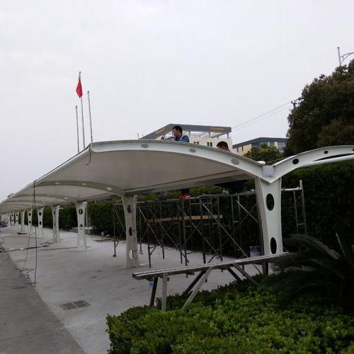双开式自行车棚SKSZXC-32
