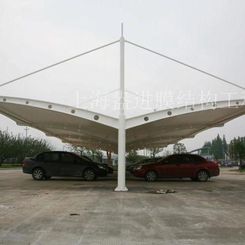 双开式停车棚SKS-28