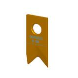 V形剥皮刀R1.50