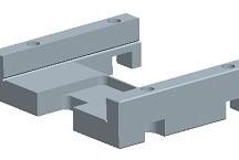 711移动切断刀片引导定位块(老型号)