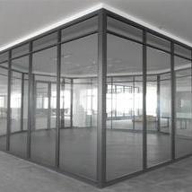 铝合金钢化玻璃隔断墙