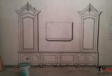 壹空间彩绘样板房