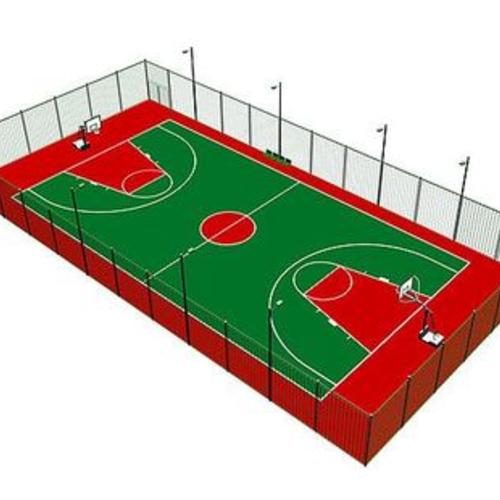 塑胶篮球场设计施工