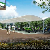 膜结构自行车棚12