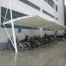 膜结构自行车棚8