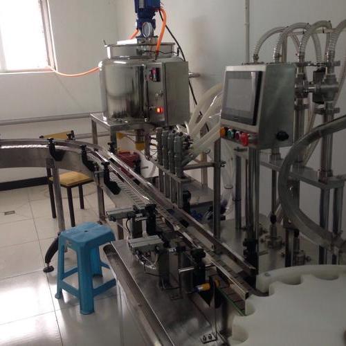 高温直线灌装生产线