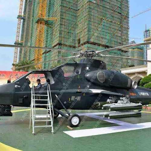 武直十战斗直升机